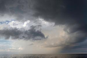 Storm Clouds over the Atlantic Ocean by Susan Degginger