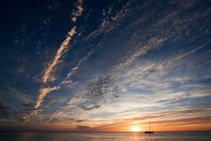 Sunset, St. Lucia, West Indies by Susan Degginger