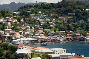 The Carenage, St. Georges, Grenada, British West Indies by Susan Degginger