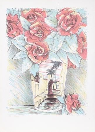 Desert Roses by Susan Hall