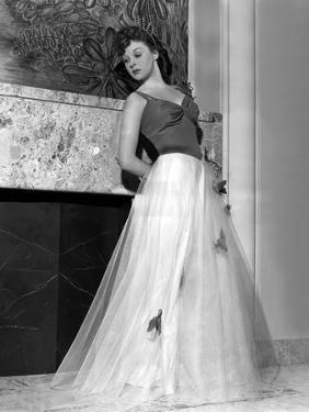 Susan Hayward (1918 - 1975) actrice americaine (b/w photo)