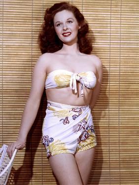 Susan Hayward (1918 - 1975), American Actress from 40's (photo)