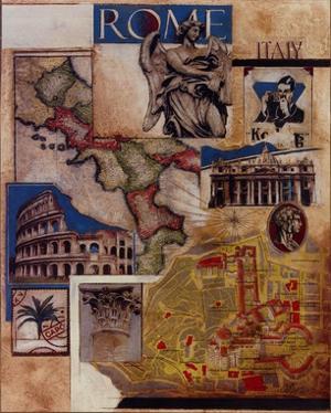 Rome Collage by Susan Osborne