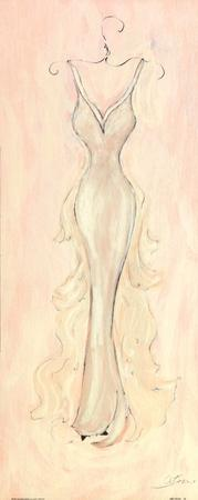 White Evening Gown