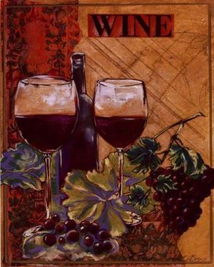 World Of Wine I by Susan Osborne