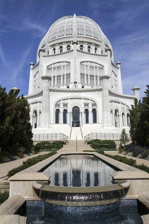Baha'i House of Worship, Wilmette, Illinois, USA