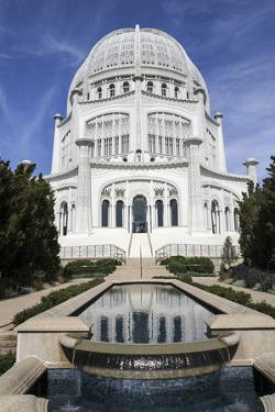 Baha'i House of Worship, Wilmette, Illinois, USA by Susan Pease