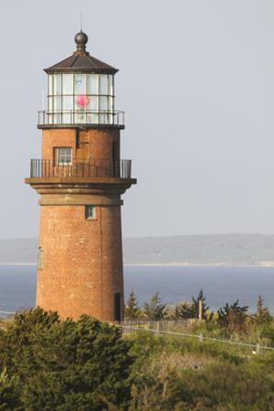 Gay Head Lighthouse, Aquinnah, Martha's Vineyard, Massachusetts, USA by Susan Pease