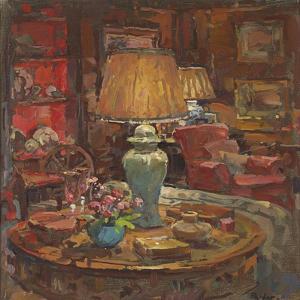 Oak Room Lamps by Susan Ryder