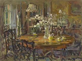 The Small Dining Room By Susan Ryder