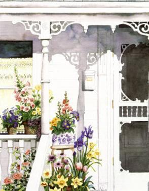 Victorian Porch by Susan Tolle Mcclure
