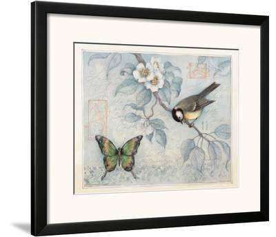Blue Bird and Butterfly by Susan Winget