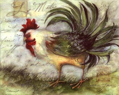 Le Rooster IV by Susan Winget