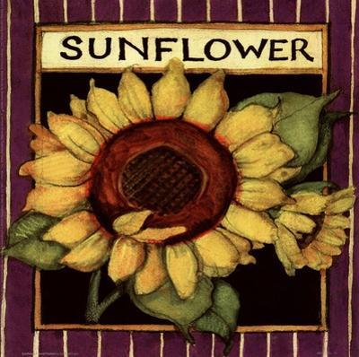 Sunflower Seed Packet by Susan Winget