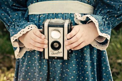 Girl in the Blue Dress 10 by Susannah Tucker