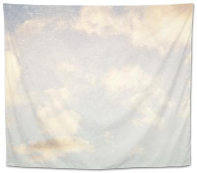 Pale Blue Sky And Clouds 5 by Susannah Tucker