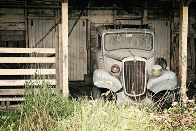 The Old Car in the Barn 2