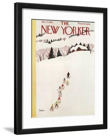 The New Yorker Cover - January 27, 1962