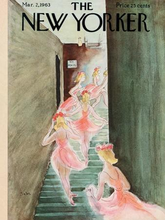 The New Yorker Cover - March 2, 1963