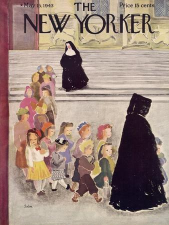 The New Yorker Cover - May 15, 1943