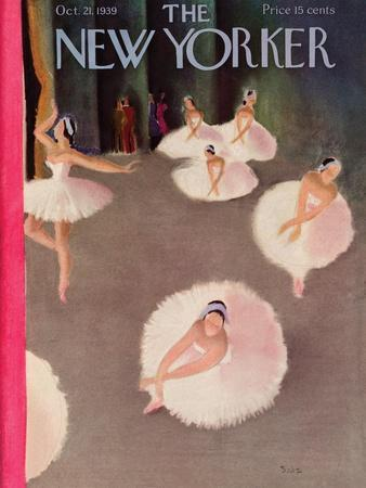 The New Yorker Cover - October 21, 1939