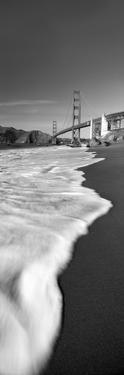Suspension Bridge across a Bay, Golden Gate Bridge, San Francisco Bay, San Francisco