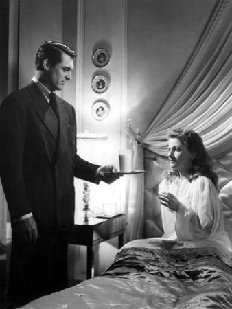Suspicion, Cary Grant, Joan Fontaine, 1941