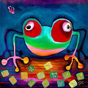 The Frog Jumps by Susse Volander