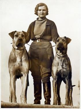 Sussex Canine Association Dog Show, Bognor Regis, Sussex, January 1934
