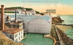 Sutro Baths, Cliff House, San Francisco, California