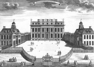 Buckingham House 1750S by Sutton Nicholls