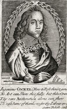 Edward Cocker by Sutton Nicholls