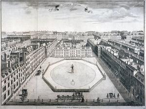 Golden Square, Westminster, London, 1754 by Sutton Nicholls