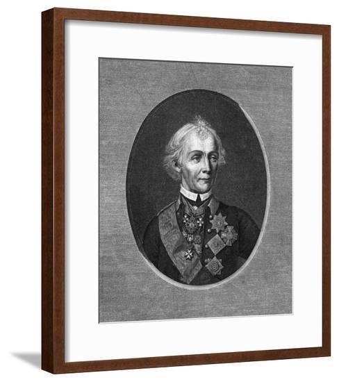 Suvorov (Oval)--Framed Giclee Print