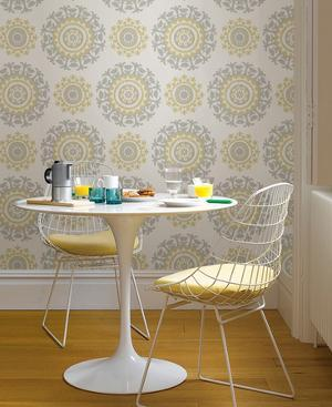 Suzani Floral Peel & Stick Wallpaper