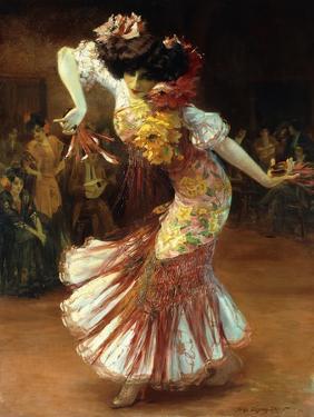 A Flamenco Dancer by Suzanne Daynes-Grassot-Solin