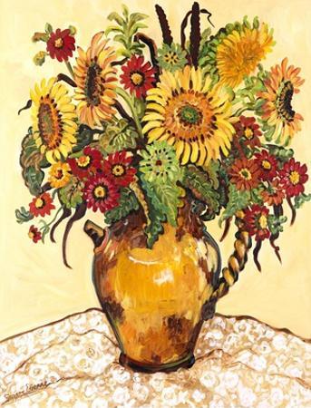 Farmer's Market Sunflower by Suzanne Etienne