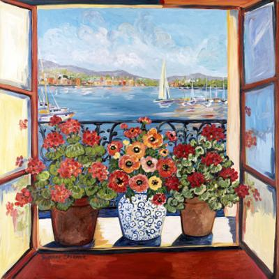 Flowers and Seascape by Suzanne Etienne