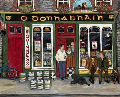 Irish Pub by Suzanne Etienne