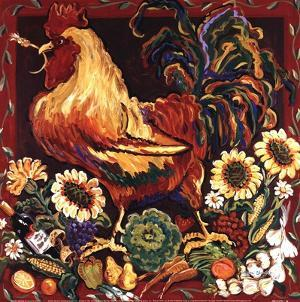 Rooster Harvest by Suzanne Etienne