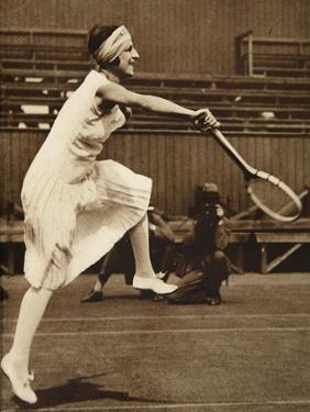 Suzanne Lenglen, 1919