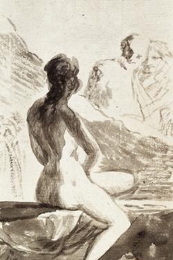 A Chaste Susana, 1790-1826 by Suzanne Valadon