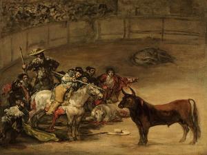 Bullfight, Suerte De Varas by Suzanne Valadon