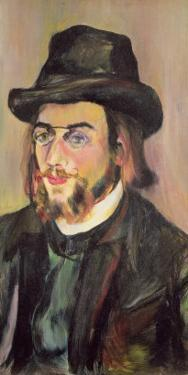 Portrait of Erik Satie by Suzanne Valadon