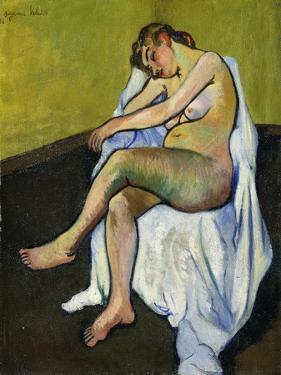 Seated Nude; Nu Assis, 1916 by Suzanne Valadon