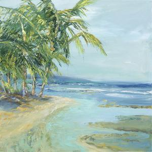 Blue Coastal Lagoon by Suzanne Wilkins