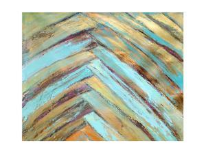 Crazy Fronds Diptych I by Suzanne Wilkins