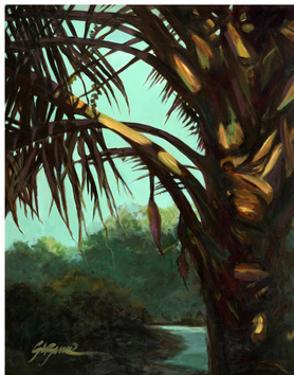 Dark Palm by Suzanne Wilkins
