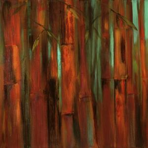 Sunset Bamboo I by Suzanne Wilkins