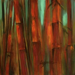 Sunset Bamboo II by Suzanne Wilkins